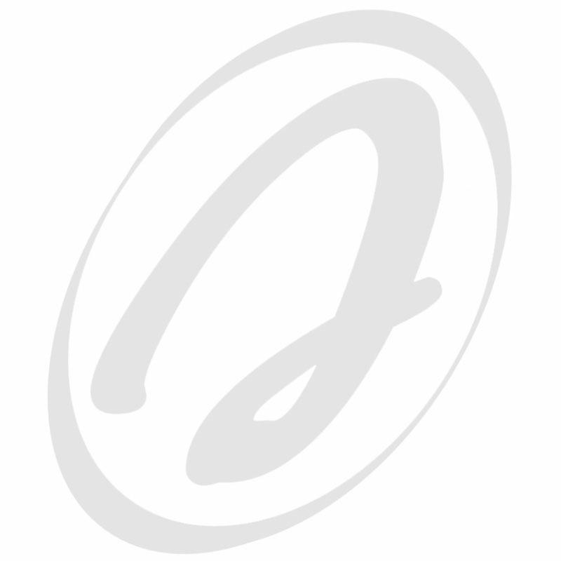 Gumena lopatica za lanac elevatora 153x123x8 mm slika