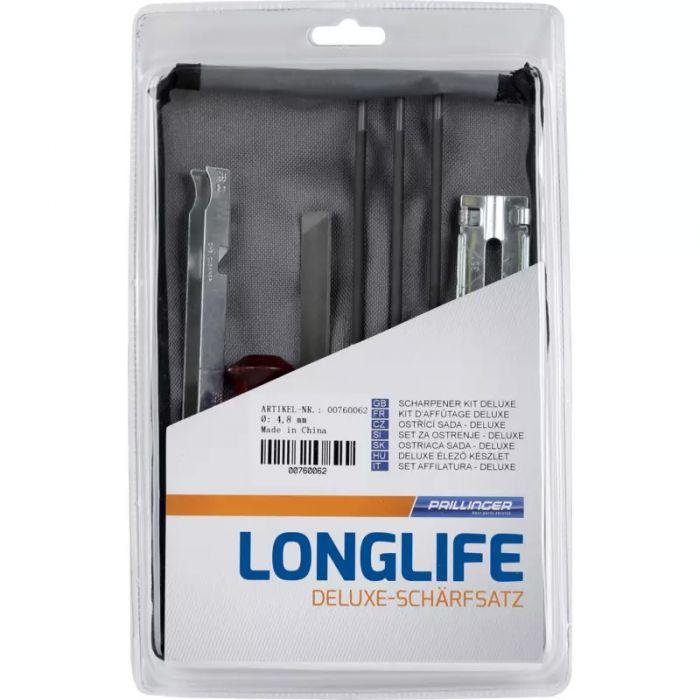 Deluxe set za oštrenje lanca Longlife sa turpijom 4.0 mm