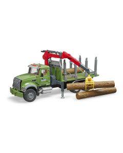 Igračka kamion za prijevoz trupaca Mack