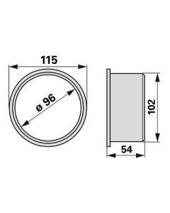 Piksa 115x96 mm
