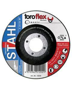 Brusna ploča za metal koljenasta 125x6 mm