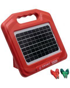 Električni pastir Granit S800 solarni 0.96 J, do 8 000 m, sa baterijom